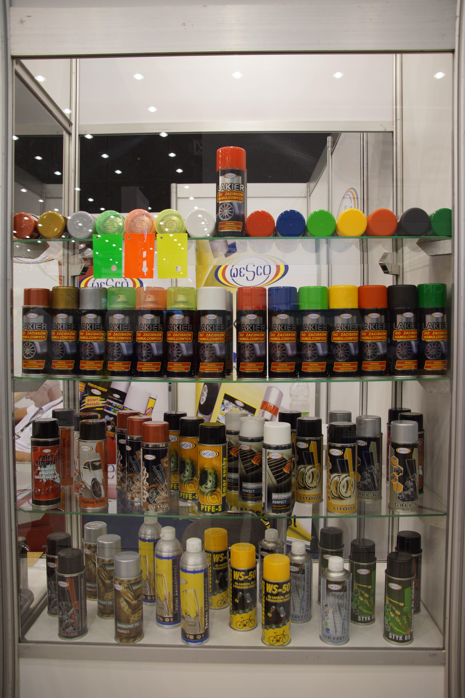 wesco lakiery spray malowanie zacisków hamulcowych