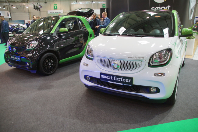 smar fortwo i forfour