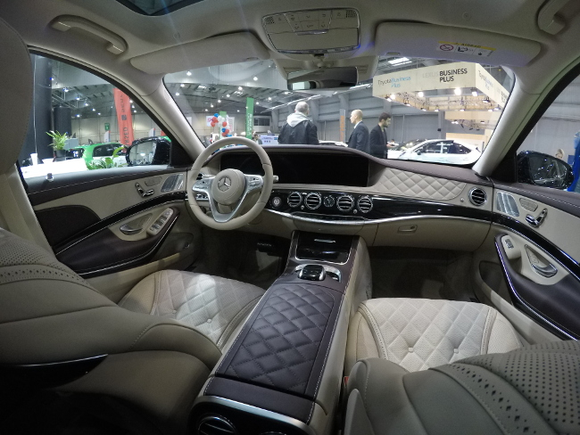 wnetrze mercedes maybach