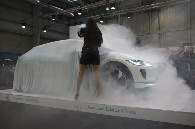 premiera Jaguar I-pace