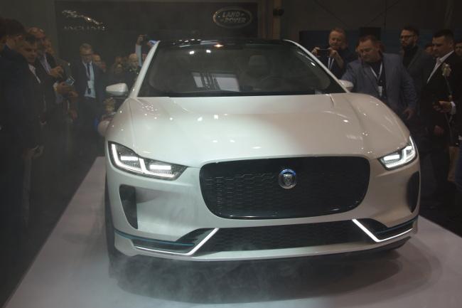Prototypowy Jaguar I-pace