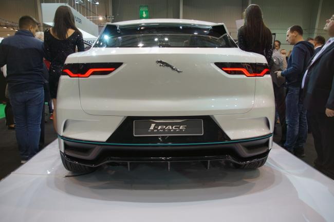 Tył Jaguara I-pace
