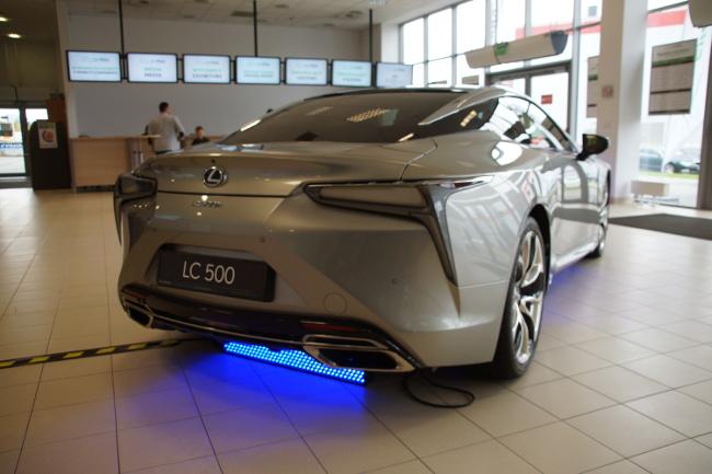 Tył Lexusa LC 500