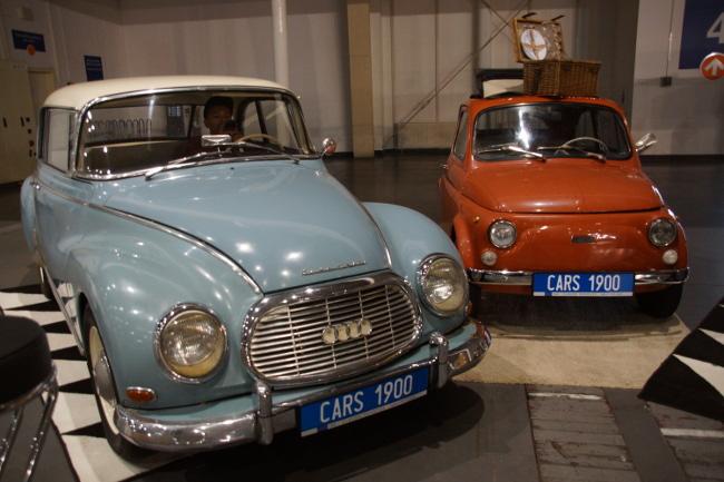 Auto Union 1000 i Fiat 500