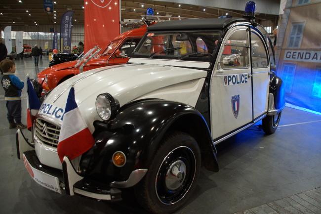 Citroen 2CV Policja