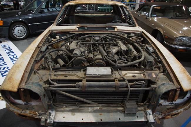 Jaguar XJ-S przed odbudową