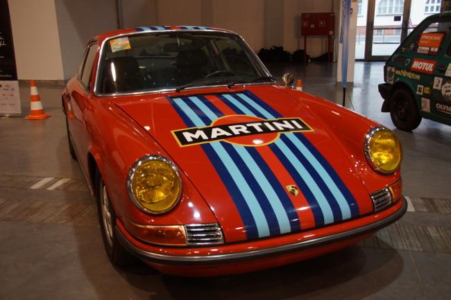 Porsche 912 w malowaniu Martini Racing