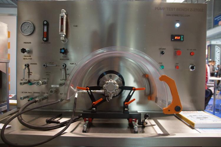 test pomp wspomagania układu kierowniczego