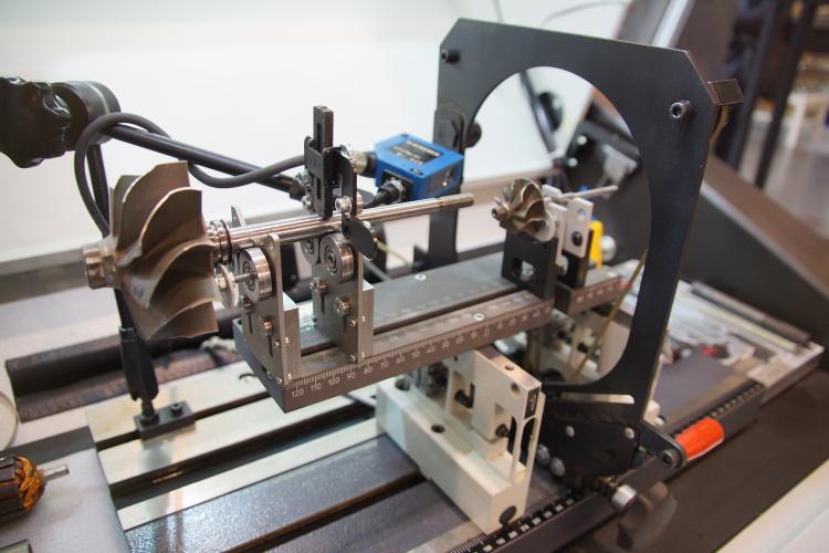 wyważanie statyczne wirnika turbosprężarki
