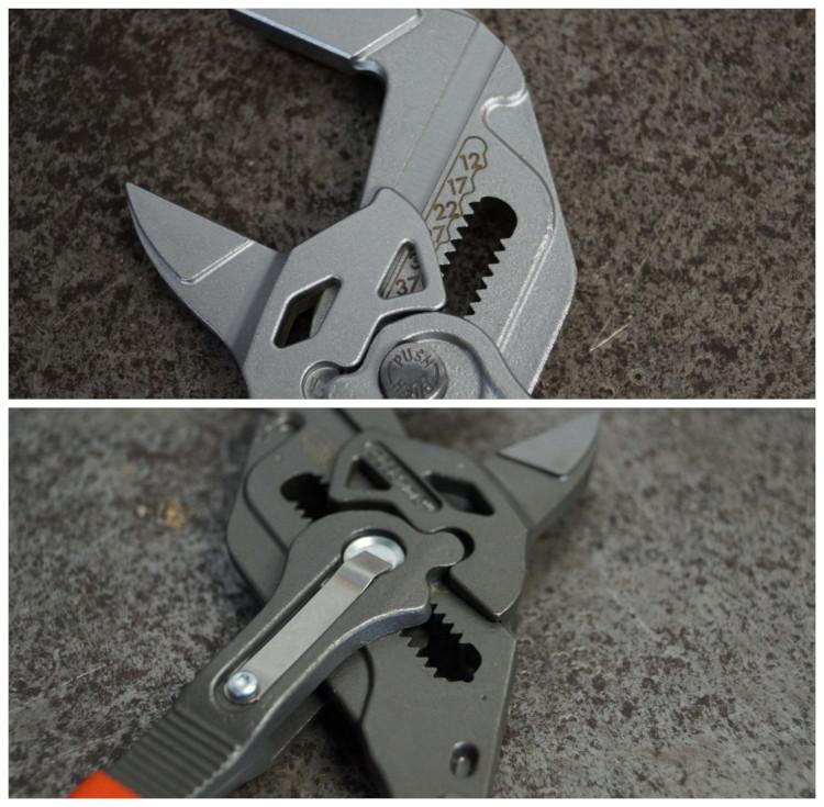 szczypce-klucz knipex